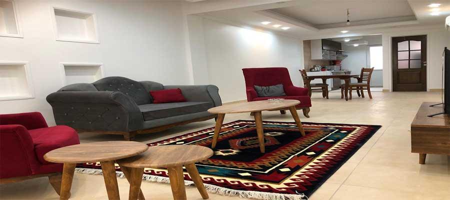 اجاره روزانه و ارزان آپارتمان مبله 75 متری نوساز در تهران - میدان پونک