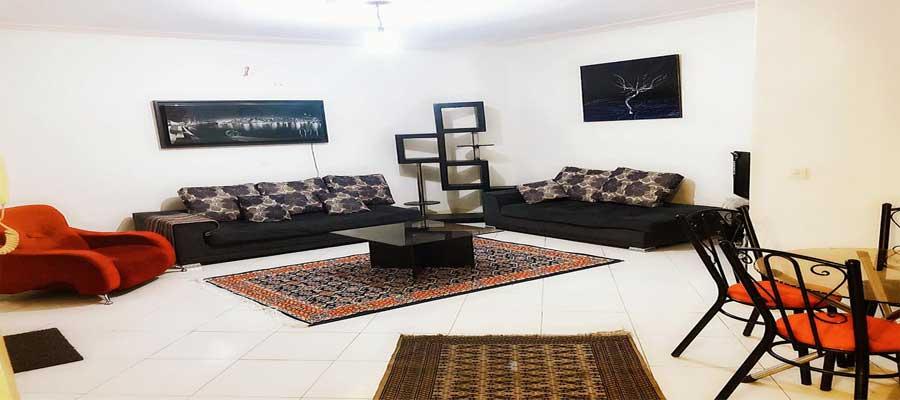 اجاره روزانه آپارتمان مبله 60 متری در سردار جنگل تهران | قیمت ارزان