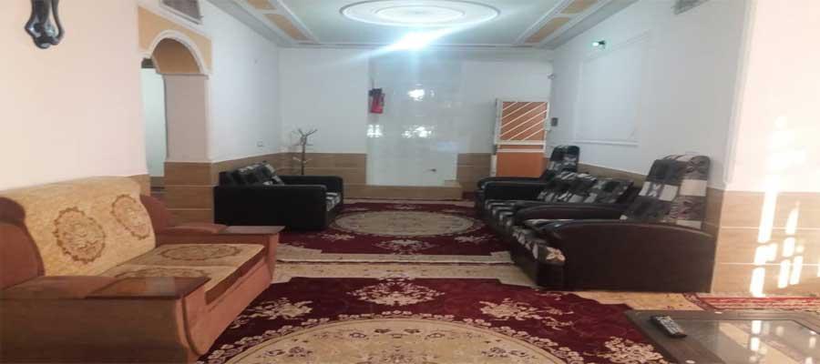 اجاره ارزان آپارتمان مبله 110 متری در خانه مسافران شیراز