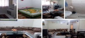 اجاره روزانه آپارتمان مبله 50 متری تهران طبقه اول تهرانپارس