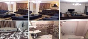 اجاره روزانه آپارتمان مبله 65 متری غرب تهران شاهین شمالی