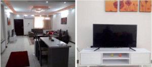 اجاره روزانه آپارتمان مبله 110 متری ارزان تهرانپارس - فلکه سوم