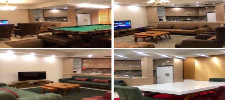 اجاره روزانه آپارتمان مبله پونک تهران 110 متری - قیمت ارزان