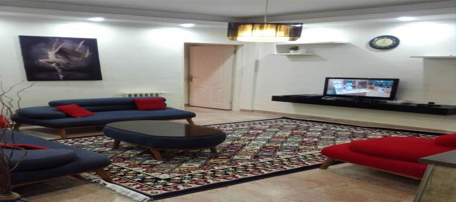 اجاره آپارتمان مبله تهران ۶۰متري شاهين شمالي