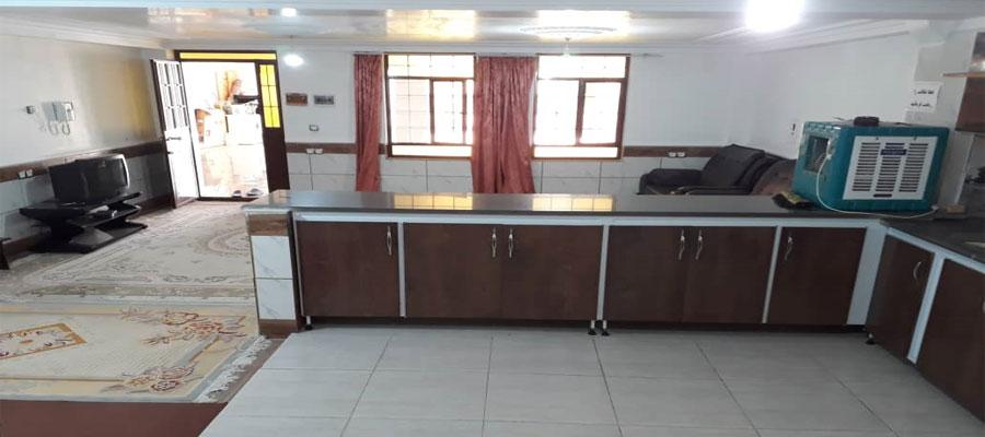 اجاره روزانه ارزان 80 متری آپارتمان مبله در منطقه زیبای یاسوج