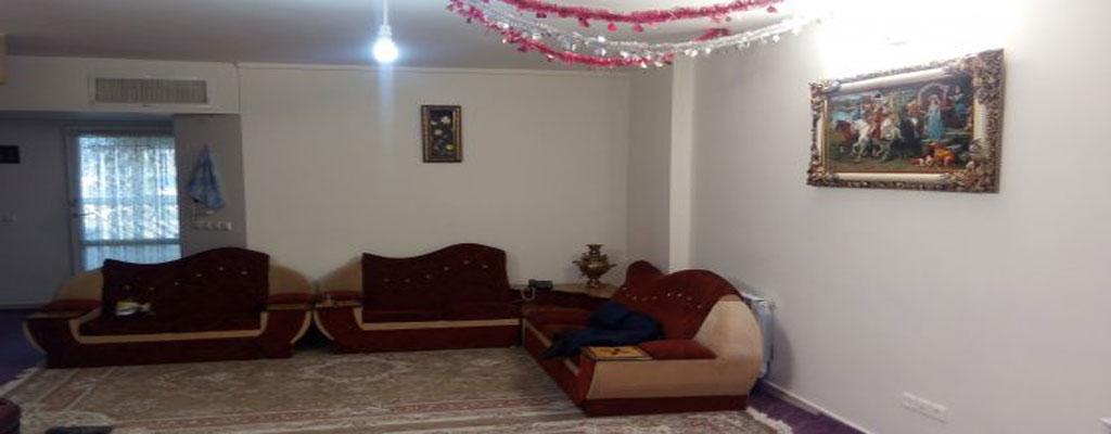 اجاره روزانه آپارتمان مبله 100 متری با قیمت ارزان در قمصر کاشان