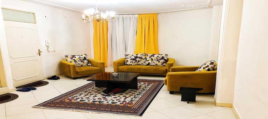اجاره روزانه آپارتمان مبله70 در جنت آباد تهران - با قیمت ارزان و مناسب