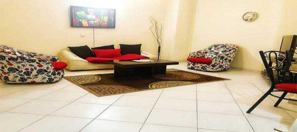 اجاره روزانه آپارتمان مبله 62 در تهران- پونک سردار جنگل طبقه همکف
