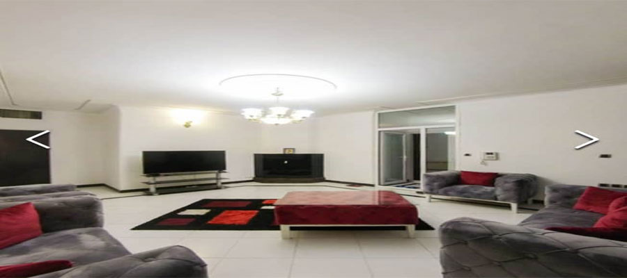 اجاره آپارتمان مبله روزانه 120متری تهران نياوران طبقه اول