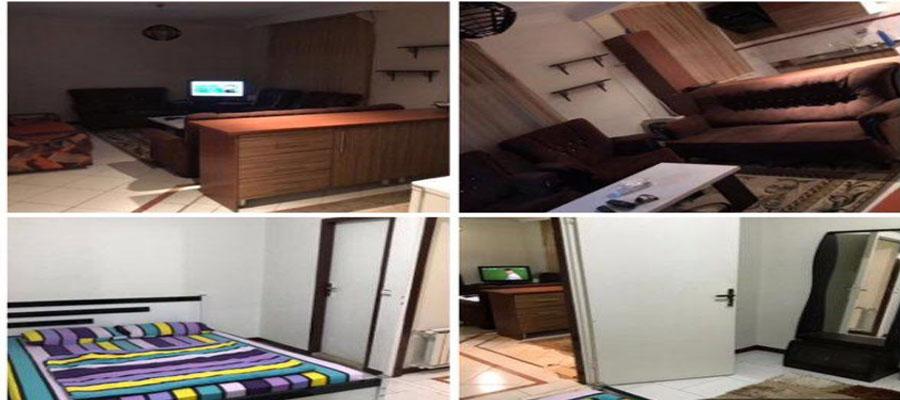 اجاره روزانه آپارتمان مبله ارزان 70 متری تهران پونك - باغ فيض