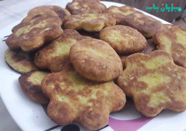 نان برساق-سوغات کردستان-سفر به کردستان