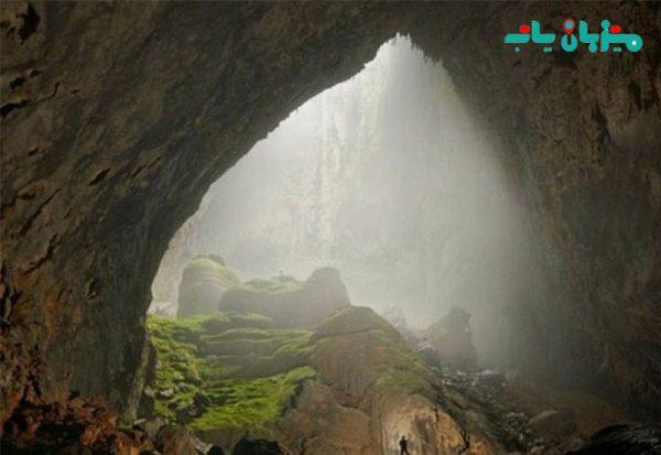 غار قزلق درگز
