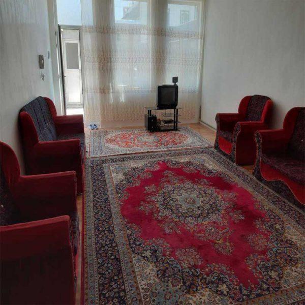 اجاره خانه مبله دربستی روزانه در اردبیل ارزان ۱۰۰ متری با پارکینگ