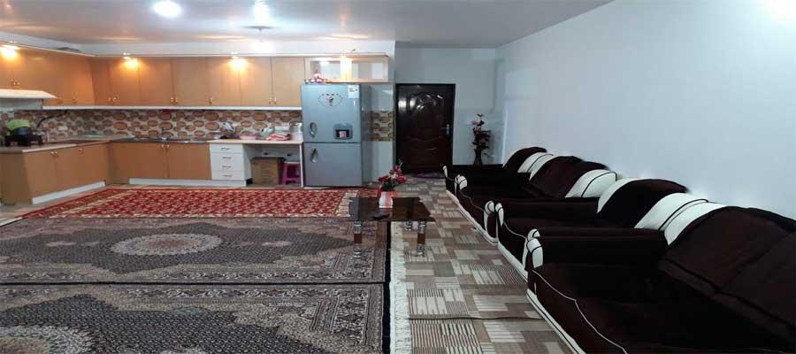 اجاره روزانه خانه مبله 100 متری دربستی نوساز در اردبیل + ارزان قیمت