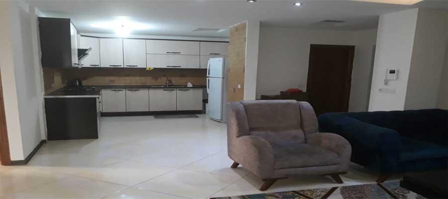 اجاره روزانه آپارتمان مبله در کیش با قمیت ارزان + 110 متری