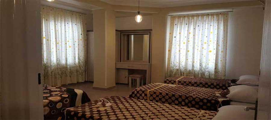 اجاره روزانه آپارتمان مبله 92 متری 6 تخته با قیمت ارزان در شهر زیبا و تاریخی تبریز