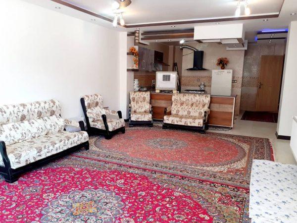 اجاره روزانه آپارتمان مبله 85 متری بام ایران شهرکرد