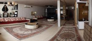 اجاره روزانه 400 ویلا مبله بسیار بزرگ فول امکانات در شیراز +قیمت ارزان