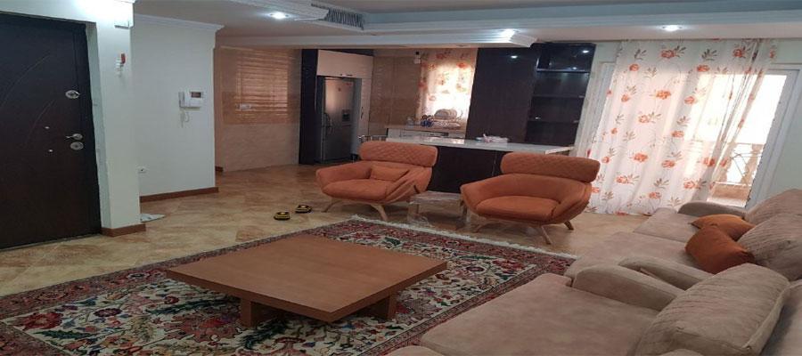 اجاره روزانه آپارتمان مبله 80 متری ارزان در تهران -شهرك غرب يك خوابه