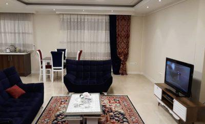 اجاره آپارتمان مبله روزانه در تهران  ۹۰ متری – پاسداران طبقه دوم