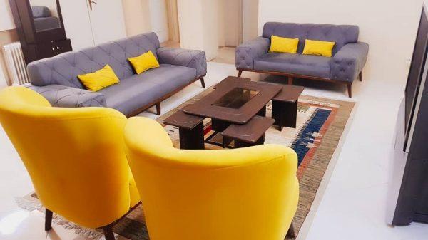 اجاره روزانه آپارتمان مبله لوکس اقدسیه تهران طبقه دوم