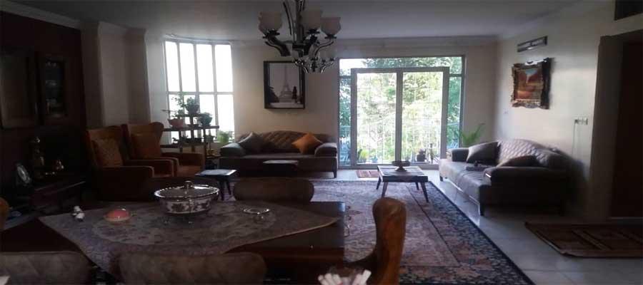 اجاره روزانه آپارتمان مبله 120 متری در بهترین نقطه اصفهان