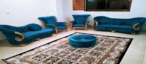 اجاره آپارتمان مبله روزانه اصفهان چهارباغ واحد 3 طبقه دوم