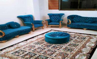 اجاره آپارتمان مبله روزانه اصفهان چهارباغ واحد ۳ طبقه دوم