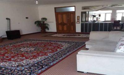 اجاره روزانه آپارتمان مبله ۱۲۰ متری ارزان دریاچه شورابیل اردبیل طبقه سوم