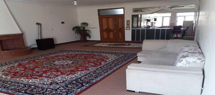 اجاره روزانه آپارتمان مبله 120 متری ارزان دریاچه شورابیل اردبیل طبقه سوم