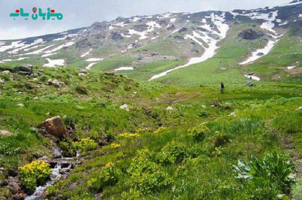 کوه چهل چشمه-سفر به کردستان