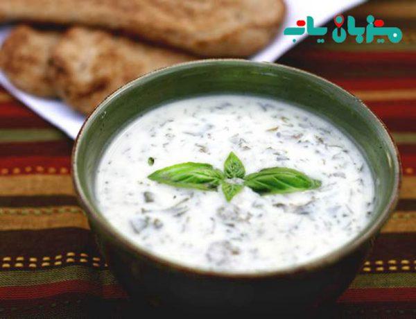 آش دوغ - غذاهای سنتی گچساران