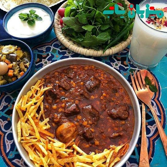 غذای محبوب قیمه  - محبوب ترین غذاهای سنتی ایران