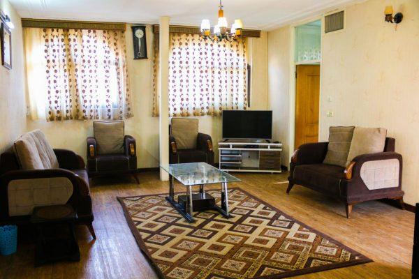 اجاره آپارتمان مبله روزانه 130 متری روزانه اصفهان - آبشار