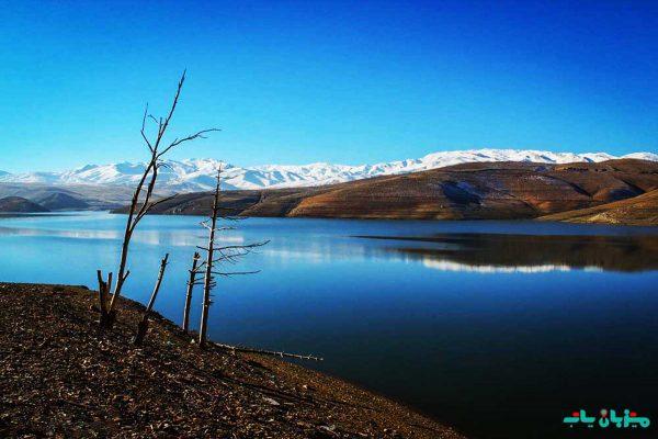 گردشگری همدان - دریاچه آکباتان
