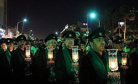 شب عاشورا(شام غریبان در مشهد)