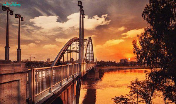گردشگری اهواز - پل سفید