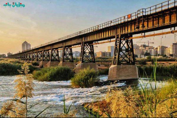 گردشگری اهواز-پل سیاه