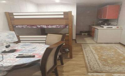 اجاره روزانه سوئیت مبله در تهران منطقه زعفرانیه ۲۰ متری