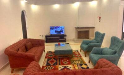 اجاره روزانه آپارتمان مبله تهران جنت آباد شمالی۱۳۰متری