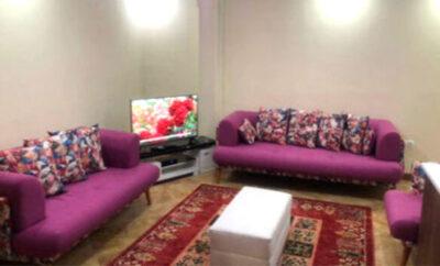 اجاره روزانه آپارتمان مبله در تهران شهرک غرب ۷۵ متری