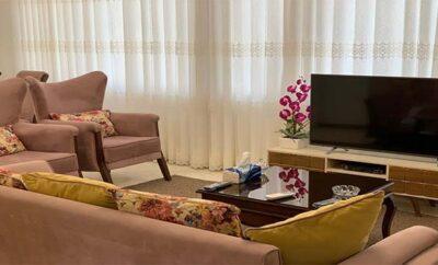 اجاره روزانه آپارتمان مبله تهران نوساز جنت آباد شمالی