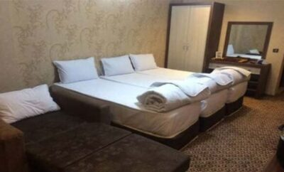رزرو هتل مشهد دارای ۴ تخت خواب  نزدیک به حرم