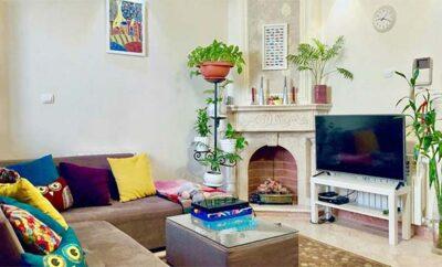 اجاره روزانه آپارتمان تهران پونک ۶۰ متریطبقه سوم