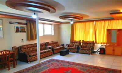 اجاره روزانه خانه اصفهان آپارتمان مبله طبقه اول