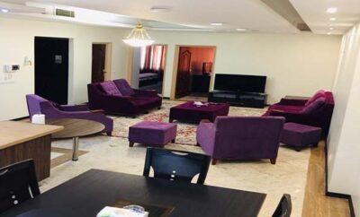 اجاره روزانه آپارتمان تهران جردن مجتمع لوکس و مبله یک خوابه تراس ۲۵ متری