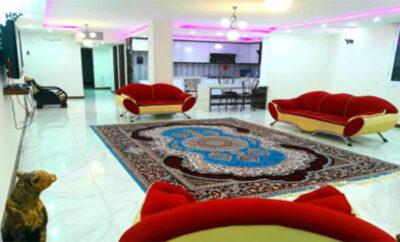 اجاره روزانه خانه اصفهان آپارتمان مبله ۱۵۰ متری لوکس و شیک نوساز