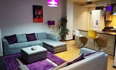 اجاره روزانه آپارتمان تهران فلکه دوم صادقیه طبقه اول