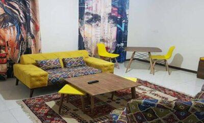 اجاره روزانه آپارتمان تهران ۵۰ متری قصرالدشت طبقه اول