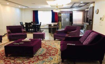 اجاره روزانه آپارتمان تهران جردن مجتمع لوکس و مبله دو خوابه